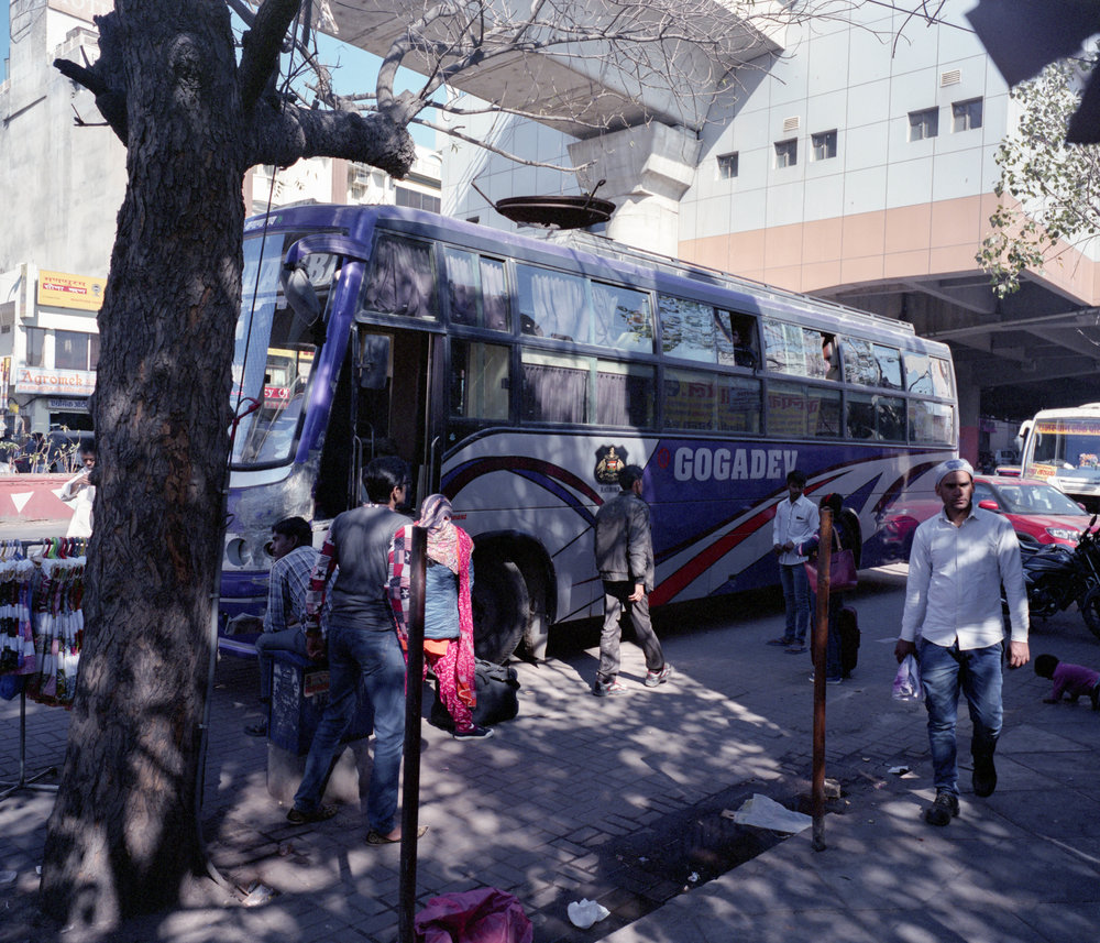 Our Bus to Jodhpur Fuji GF670w | Fuji Pro 400