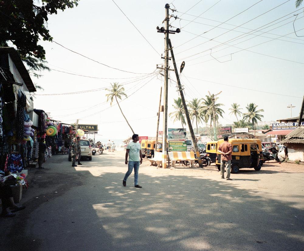 Vasco De Gama, Goa Fuji GF670w | Kodak Portra 400