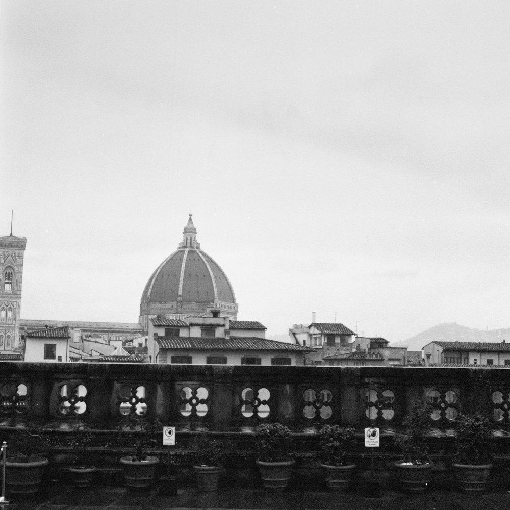 Brunelleschi's Dome Hasselblad 501c   Bergger Pancro 400