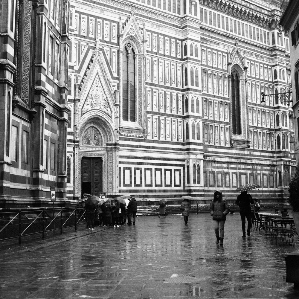 Florence Cathedral Hasselblad 501c | Bergger Pancro 400
