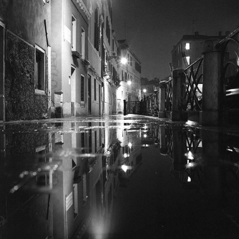 Flooded Venice Hasselblad 501c   Bergger Pancro 400