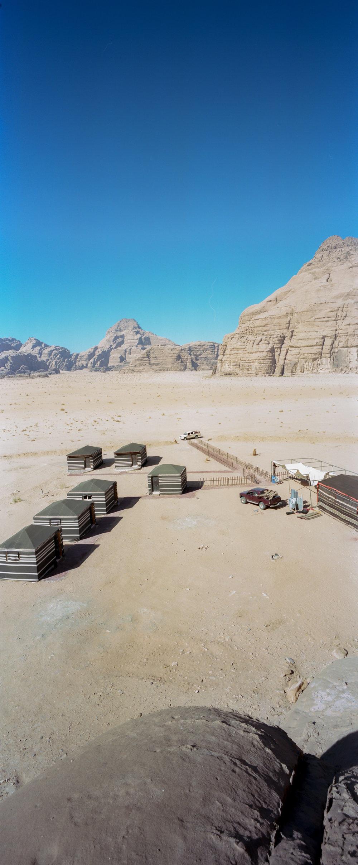 "Our ""tent"" in the bottom left K6x15vx   Kodak Portra 400"