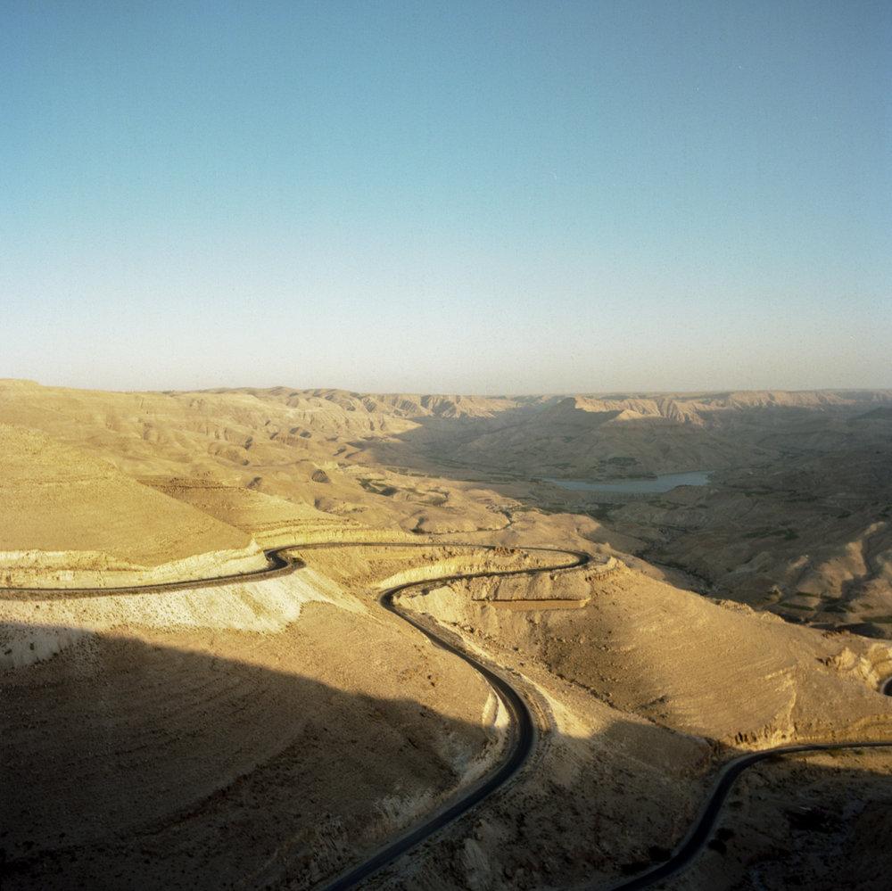 Up from the dam Hasselblad 501c   Kodak Portra 400