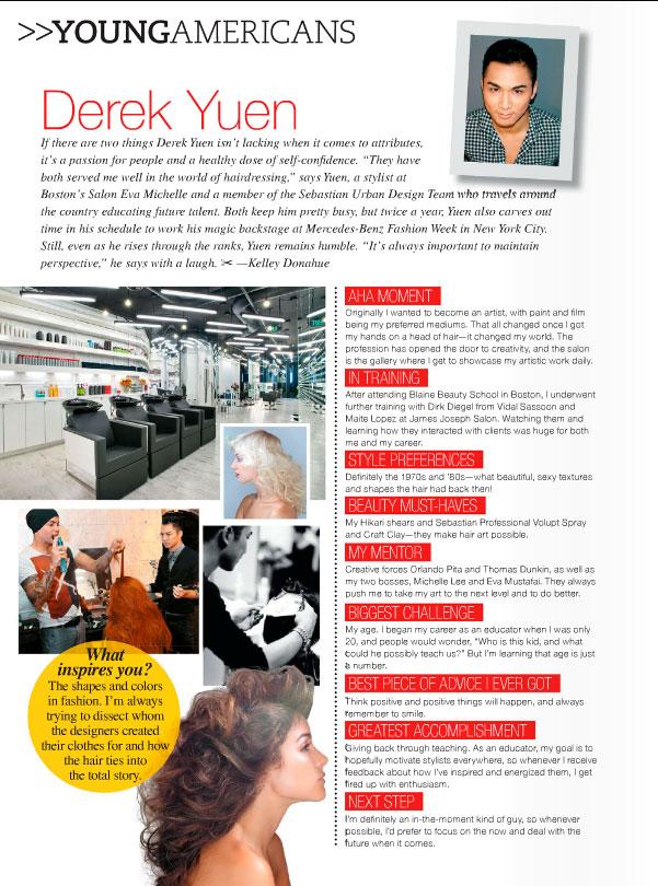 AmericanSalon Feature: Derek Yuen