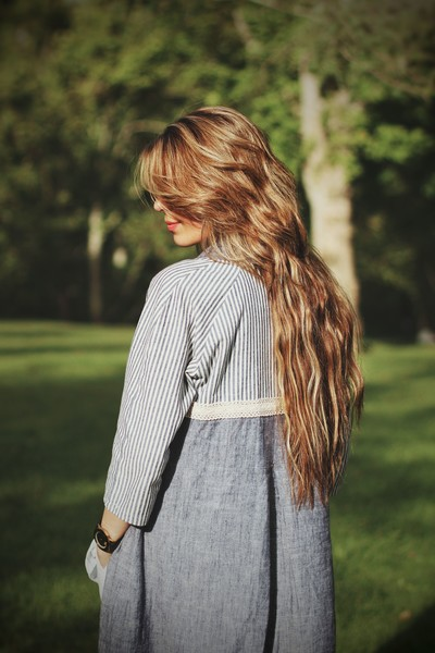 """Use Hydrating Products  """"Wash your hair with something hydrating and a moisturizing conditioner, try to wash before bed (using a silk pillowcase), which will reduce frizzing,"""" says Bryant Anthony, Artistic Designer at  Salon Eva Michelle.     Click here to see on livingly.com!"""