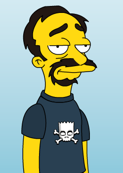 Created with  Simpson's Avatar Creator