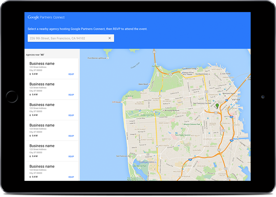 Agency Locator Tool