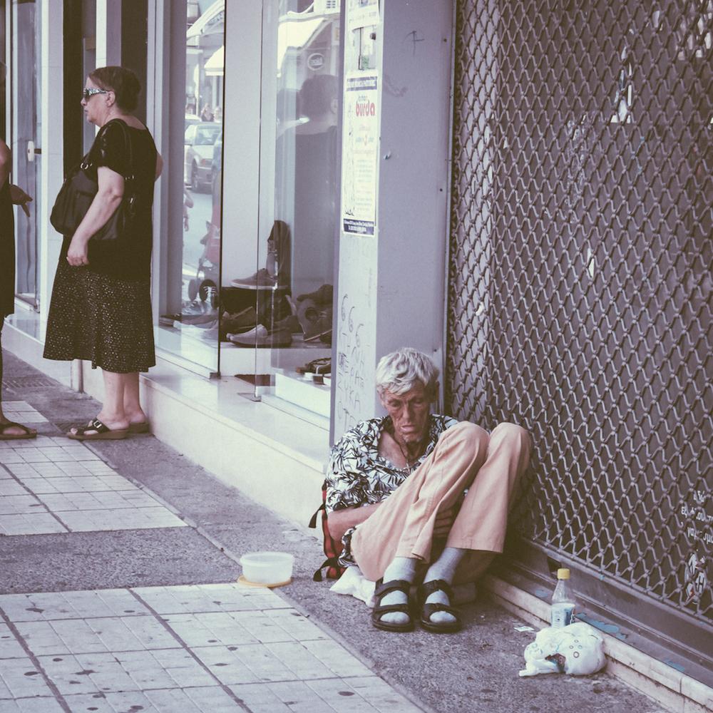 Για «πρώτη φορά» εξαθλίωση στους δρόμους