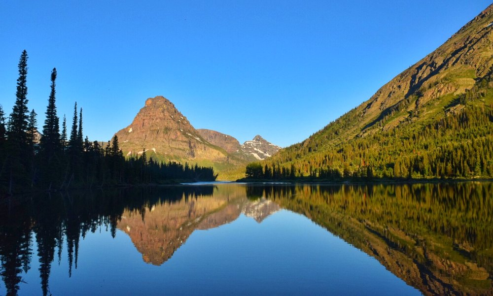 Pray Lake - Glacier National Park