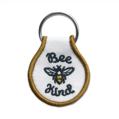 bee kind keychain beholder badges