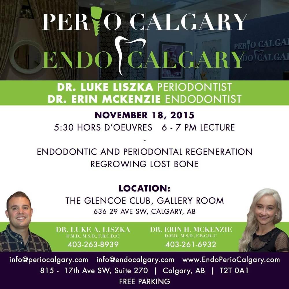 Event - Endodontic and Periodontic regeneration of bone