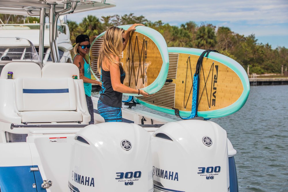 take your boards with you - offshore adventures await...
