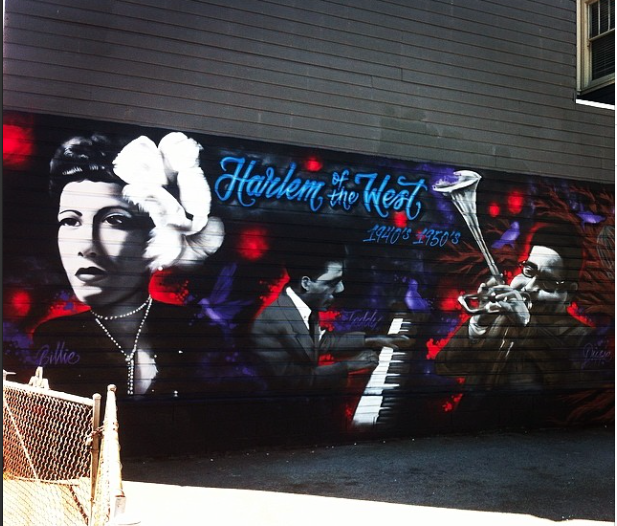 Harlem of the West Mural