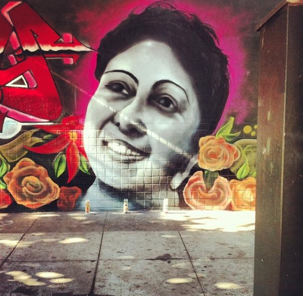 Sandy Memorial Mural