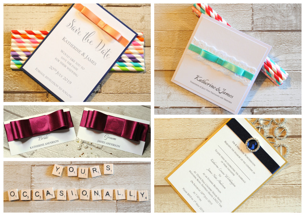 Bespoke Wedding Stationery - Yours Occasionally
