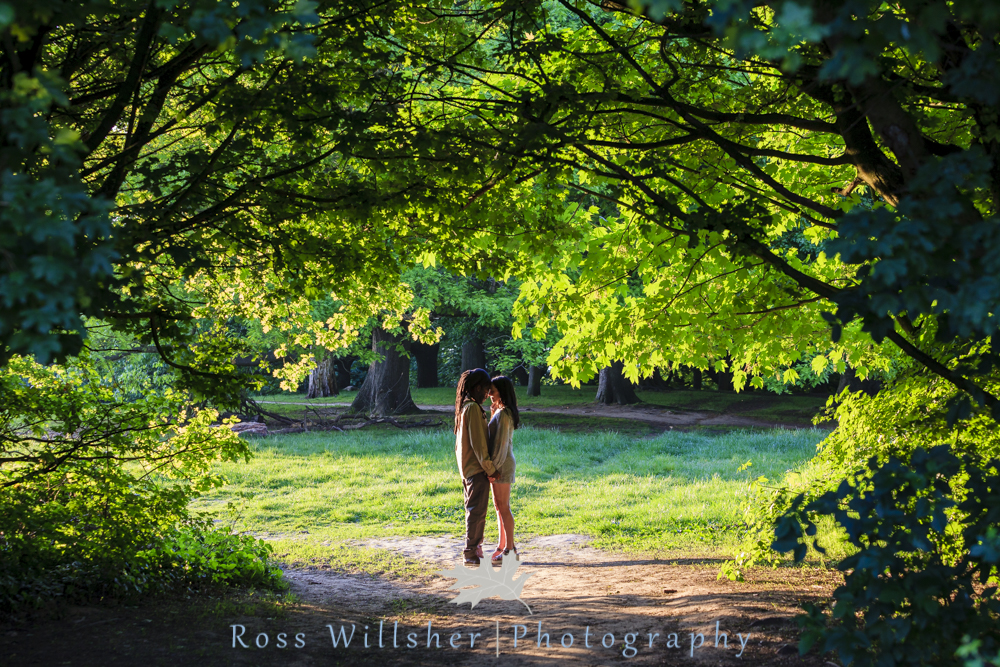 Hampstead Heath Engagement Photography