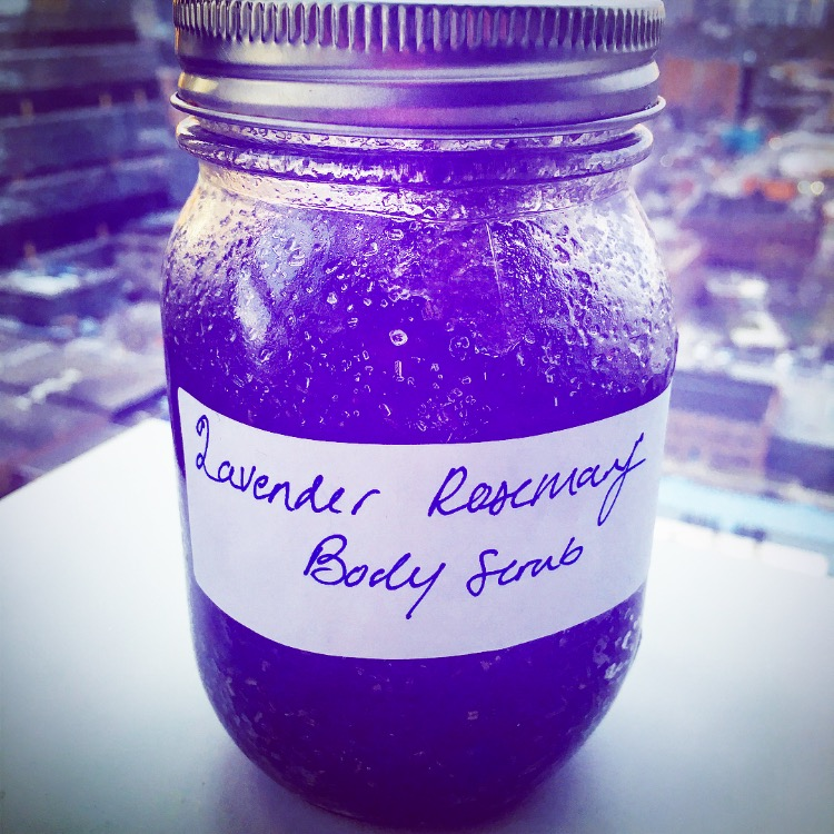 Lavender Rosemary Body Scrub