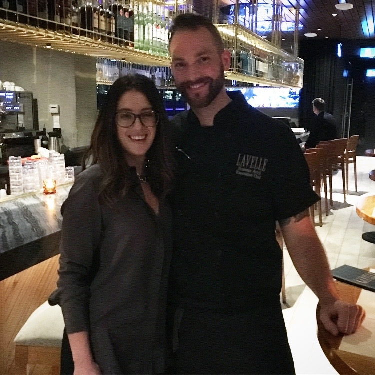 Executive Chef Romain Avril and I