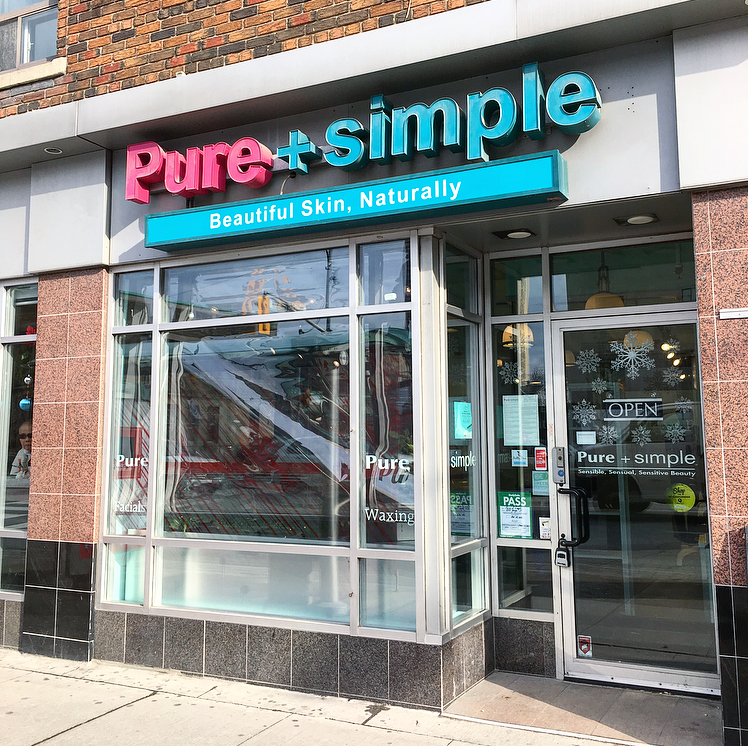 Pure + Simple - Eglinton Location (2375 Yonge St, Toronto, ON M4P 2C8) Tel:  416.481.2081