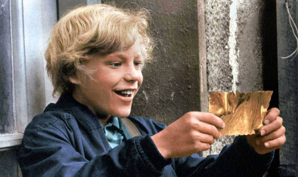 Charlie and the choclate factory golden ticket