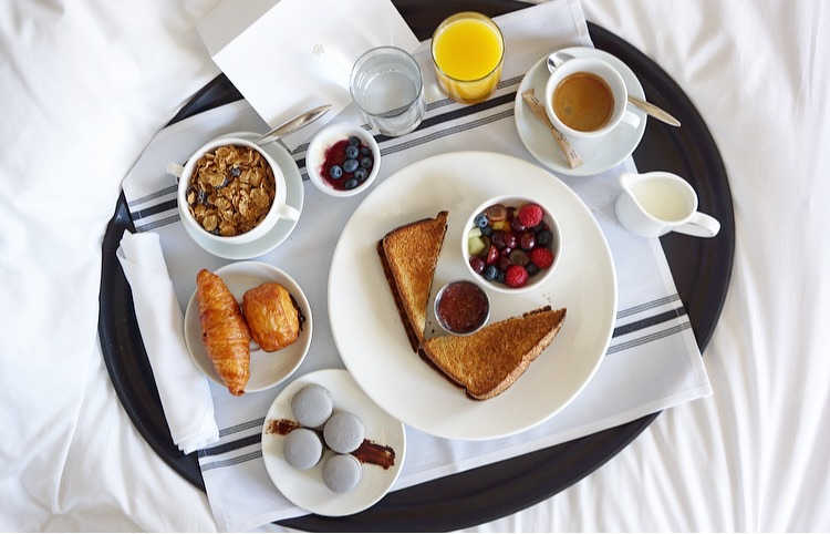 Continental Breakfast at Hotel William Gray