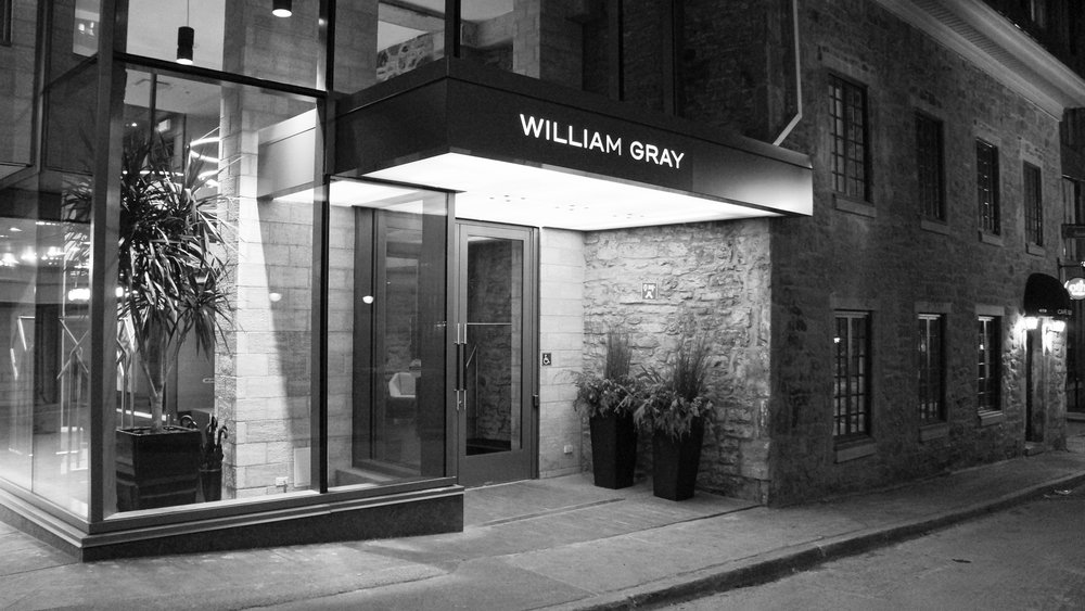 Hotel william gray montreal 39 s newest boutique hotel for Hotel boutique montreal