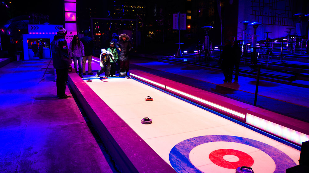 Curling at Lumiere