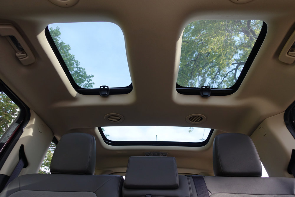 Ford Flex Multi Panel Vista roofs!