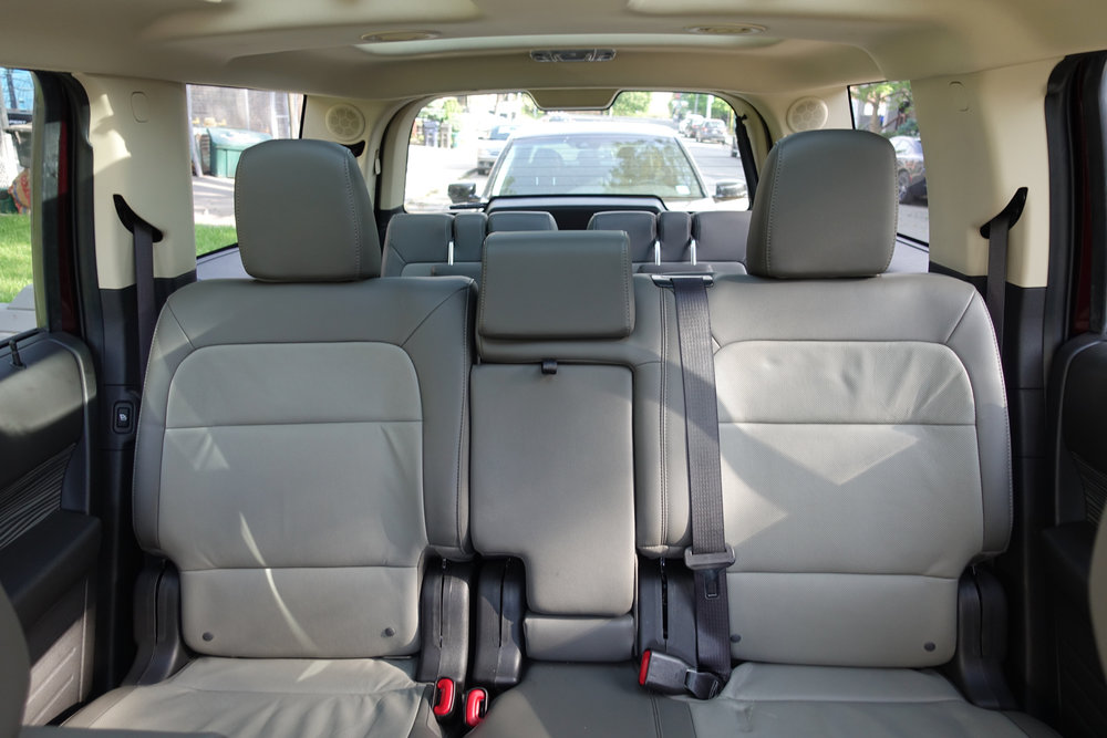 Ford Flex Passenger Seating