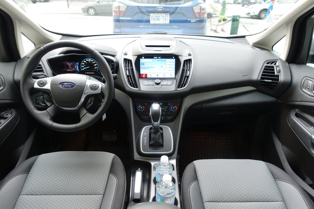 Interior of the Ford C-Max Energi