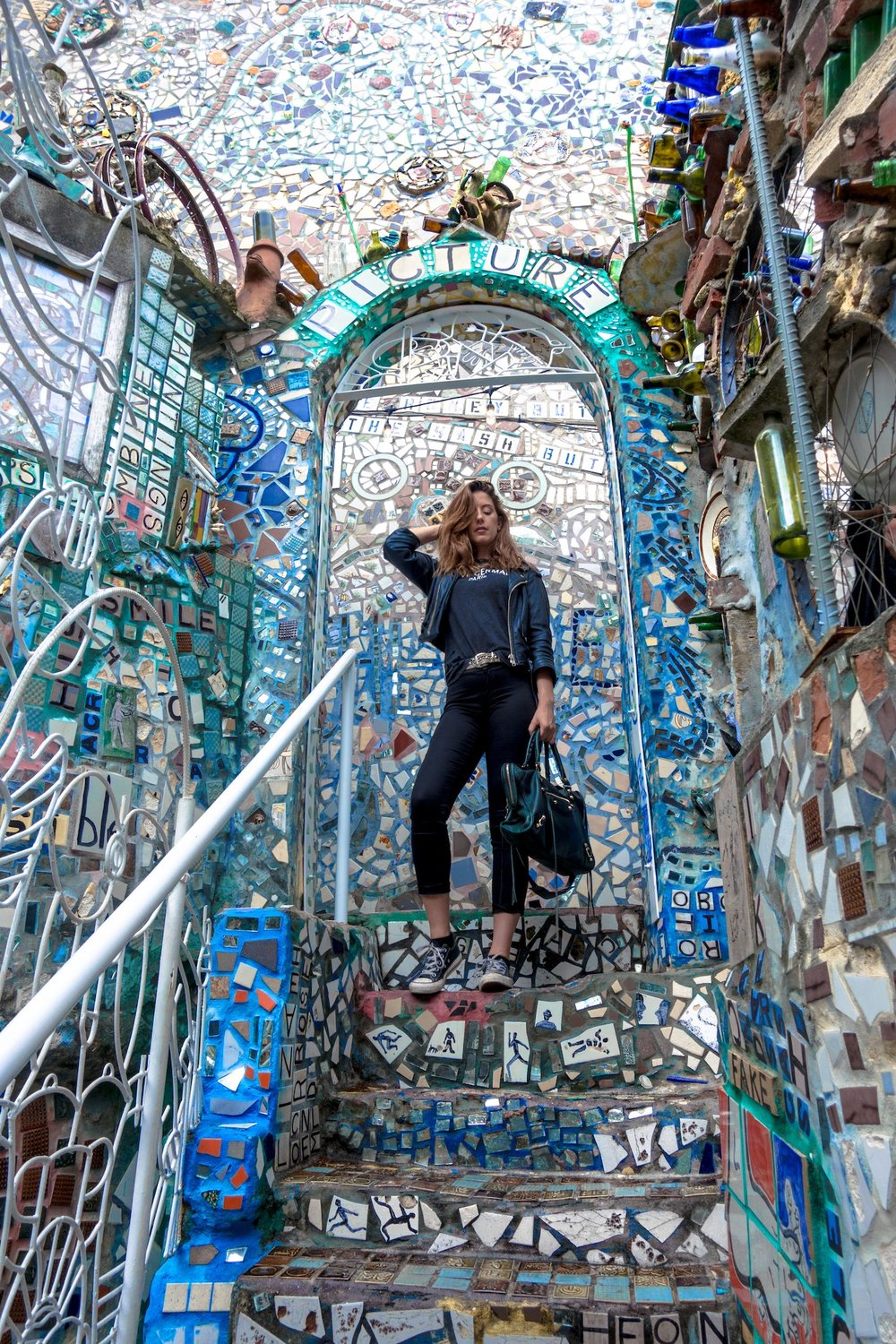 At Magic Gardens Philly