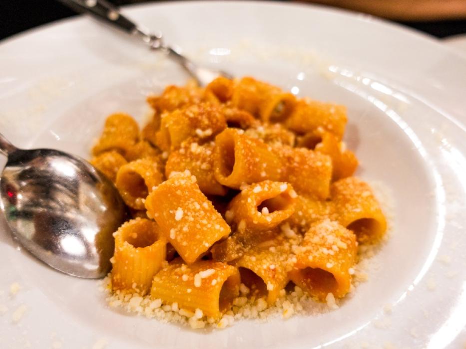 Pasta at Roscioli