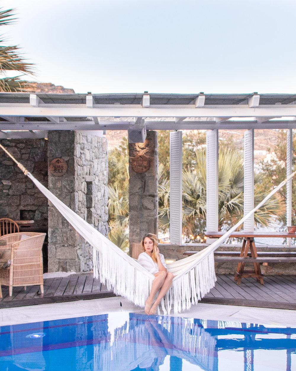 San Giorgio - Poolside Hammock