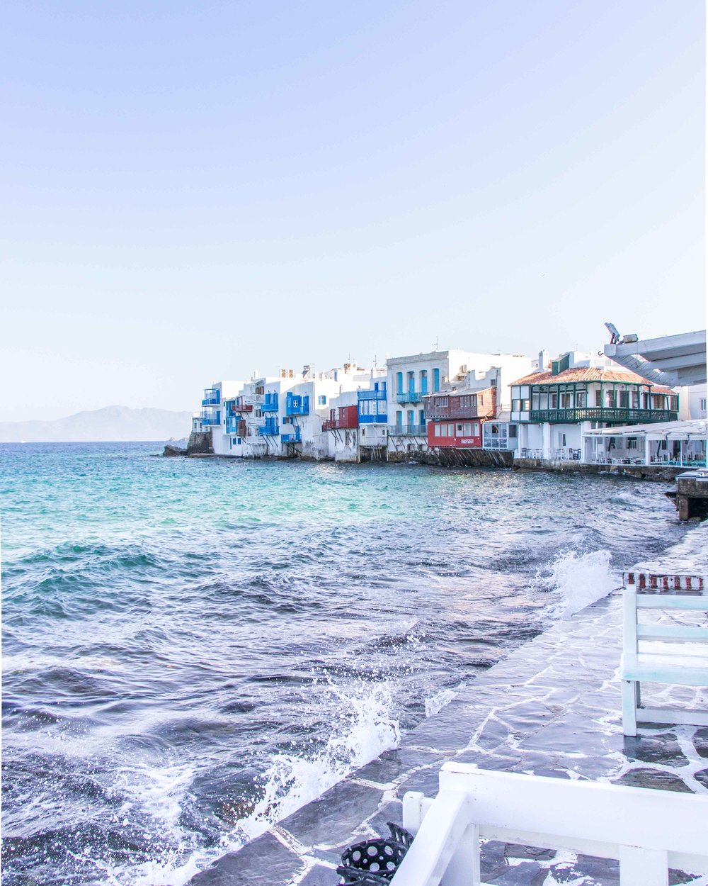 Little Venice Area - Mykonos Old Town