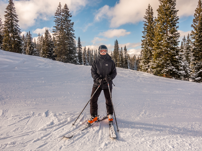 Adam Skiing
