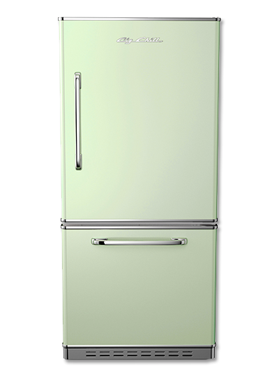 Retropolitan Fridge