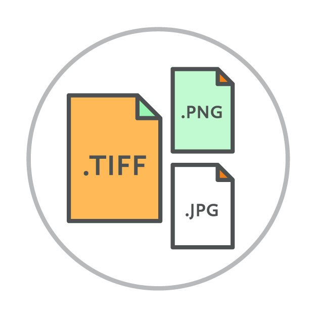 Ready-to-Use   Files delivered in 3 different formats to meet all your needs
