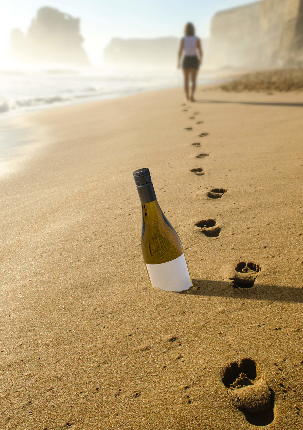 Leaving the footprints