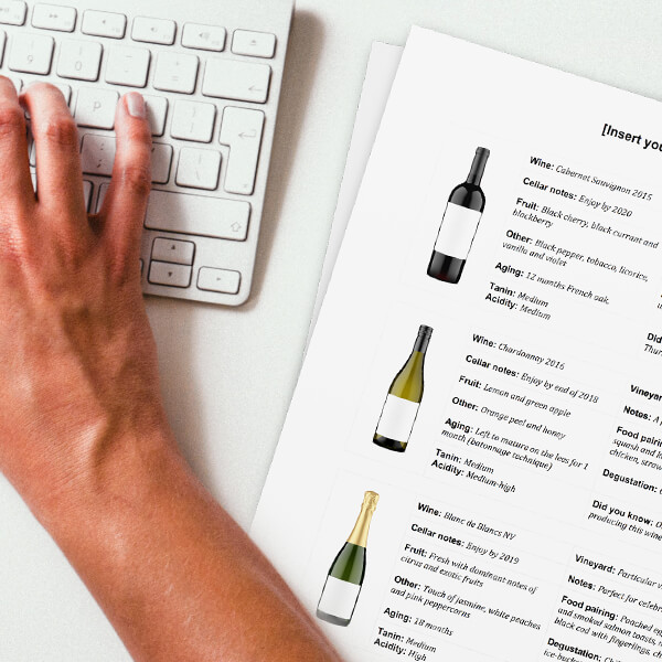 WINE CLUB MAILER TEMPLATE     WINERIES   Create more loyal wine fans. Easily.