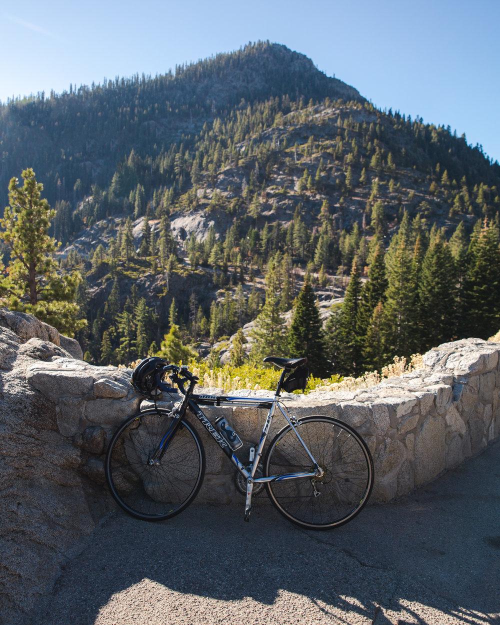 Around Lake Tahoe - My longest ride to date.