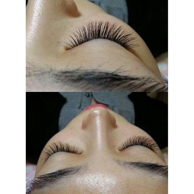 Full set of eyelashes!