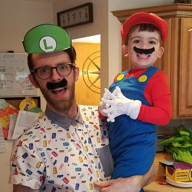 It's-a-me, Uncle Kenny! #sammys4thbday