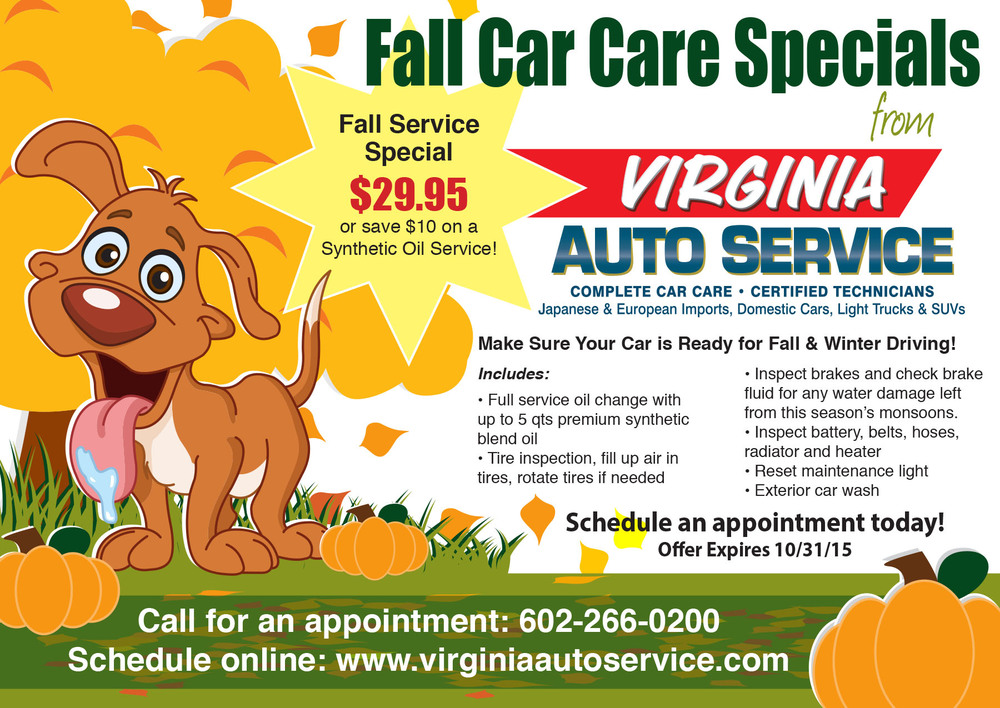 Virginia Auto Service Direct Mailer
