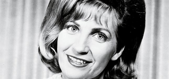 Pictured: Skeeter Davis. Oops.