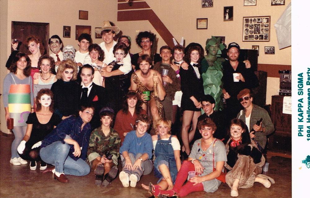 1984 Halloween Party