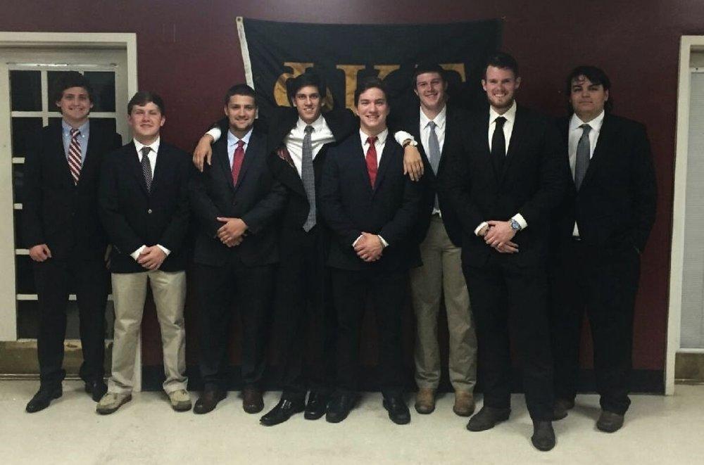 The Spring 2016 Pledge Class