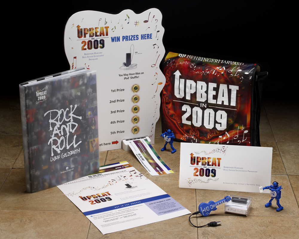 Behringer UPBEAT in 2009 promotion