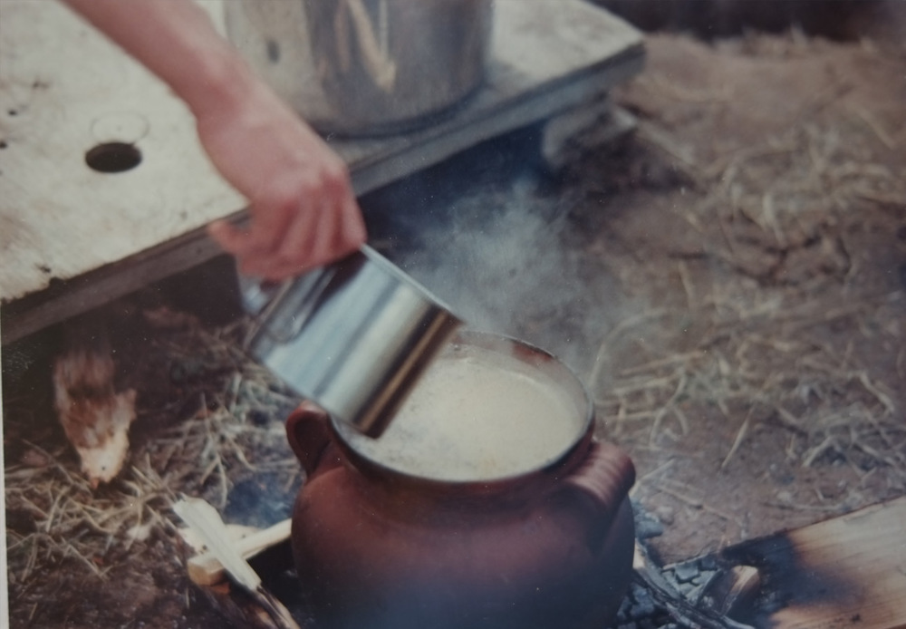 Cooking Ayahuasca