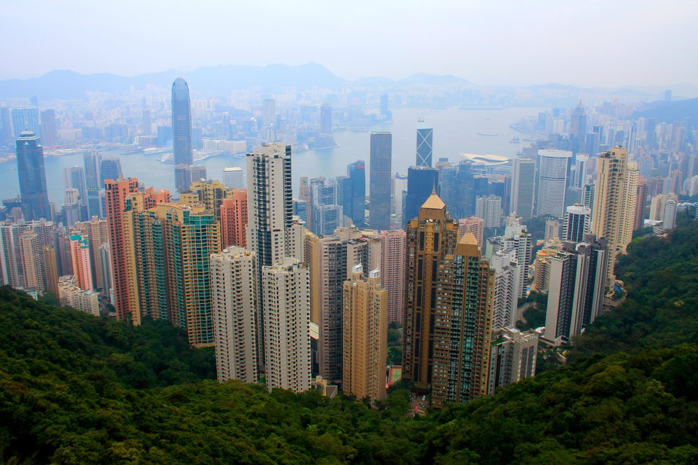 Victoria Peak, Hong Kong, China