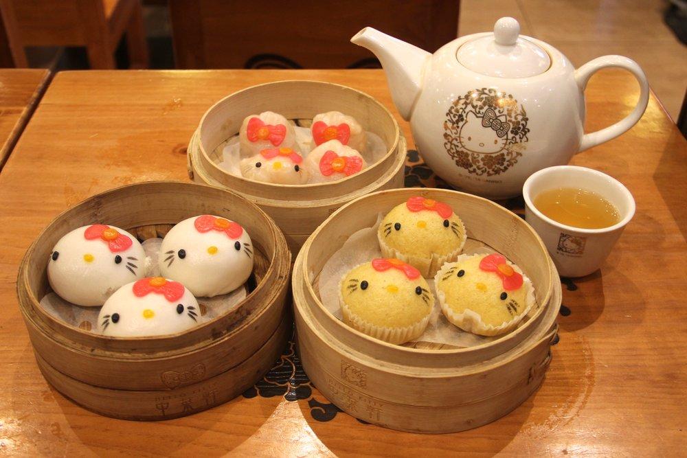 Dim Sum, Hello Kitty Chinese Cuisine, Hong Kong